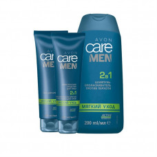 "Набор Avon Care Men 2в1 ""Мягкий уход"""